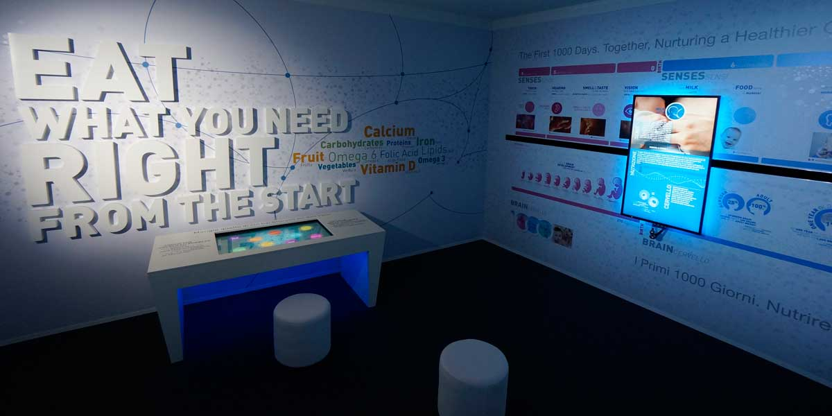 Interactive museum for Nestlé